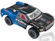 RC auto Fury Mega, modro-čierna