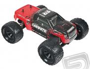 RC auto Granite Mega, červeno-čierna