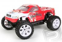 RC auto HiMOTO Monster Truck EMXT-1, červená