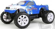 RC auto HiMOTO Monster Truck EMXT-1, modrá