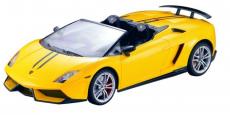 RC auto Lamborghini Gallardo LP 570-4 Spyder Performant, žltá