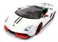 RC auto Lamborghini Gallardo Spyder Performante, biela