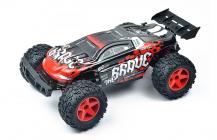 RC auto Pioneer Brave, čiernočervená