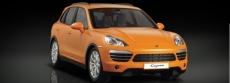 RC auto Porsche Cayenne, oranžová