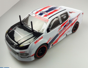RC auto Racers Drift Pick-up, červená