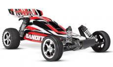 RC auto Traxxas Bandit 1:10, červená