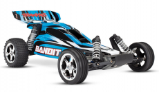 RC auto Traxxas Bandit 1 : 10, modrá