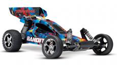 RC auto Traxxas Bandit 1:10, Rock'n Roll, čierna
