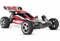 RC auto Traxxas Bandit 1 : 10 RTR, červenočierna