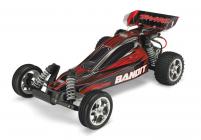 RC auto Traxxas Bandit 1 : 10 RTR, čiernočervená