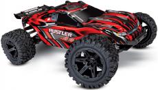 RC auto Traxxas Rustler 1 : 10 4WD RTR, červená