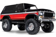RC auto Traxxas TRX-4 Ford Bronco 1 : 10 TQi RTR, červená