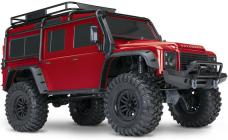 RC auto Traxxas TRX-4 Land Rover Defender 1 : 10 TQi RTR, červená