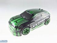 RC auto X-Knight 1:18 RTR 4WD, zelená