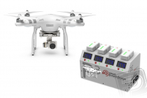 RC dron DJI Phantom 3 Advanced, set 1