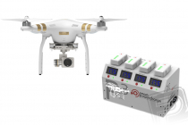 RC dron DJI Phantom 3 Professional, set 1