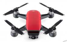 RC dron DJI Spark Fly More Combo (Lava Red version)