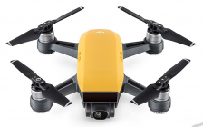 RC dron DJI Spark Fly More Combo (Sunrise Yellow version)