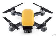 RC dron DJI Spark (Sunrise Yellow version) + vysielač