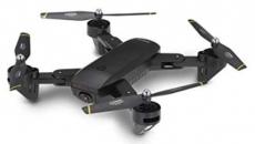 RC dron DM107s, čierna