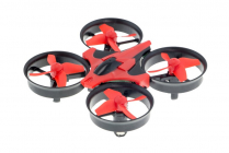 RC dron HI-TEC NANO, červenočierna