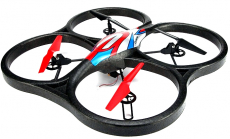 RC dron SPACE TREK + HD kamera, FPV