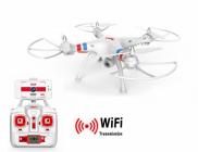 RC dron SYMA X8W FPV, biela