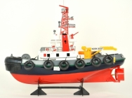 RC hasičská loď s vodným delom