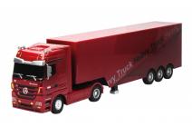 RC kamión Mercedes-Benz Actros, červená