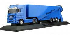 RC kamión Mercedes-Benz Actros, modrá