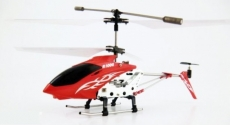 RC vrtuľník Rayline 100G INFRA, červená