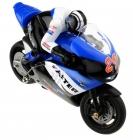 RC motorka R29 s gyroskopom, modrá