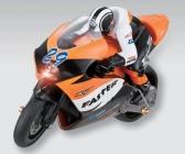 RC motorka R29 s gyroskopom, oranžová
