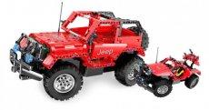 RC stavebnica Jeep Wrangler 2v1