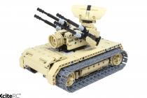 RC stavebnica Protilietadlový tank