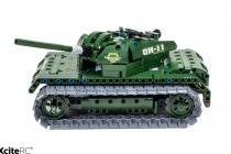 RC stavebnica Vojenský tank
