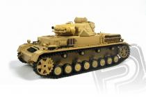 RC tank 1:16 Panzerkampfwagen IV Ausf. F-1 dym. a zvuk. efekty