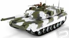 RC tank 1:16 M1A1 Abrams, zimná verzia