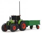 RC Traktor Axion Claas 850 s prívesom 1/28