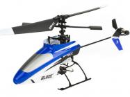 RC vrtuľník Blade mSR RTF modrá, mód 1