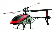 RC vrtuľník Buzzard, červenočierna