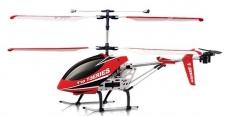 RC vrtuľník MJX T610, červená