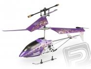RC vrtuľník Nanocopter, fialová