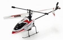 RC vrtuľník WL Toys V911, červená
