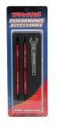 Revo/Summit - tyč závěsu 128mm hliník červený (2)