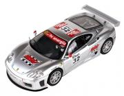 SCX Ferrari 360 GTC, strieborná