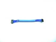 Senzorový kábel modrý, HighFlex 70mm