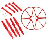 Set pre Syma X8C, X8G, X8W, červená