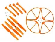 Set pre Syma X8C, X8G, X8W, oranžová