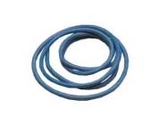 Silikónový kábel 4,1qmm, 11AWG, 1 meter, modrý